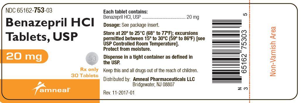 20 mg Label