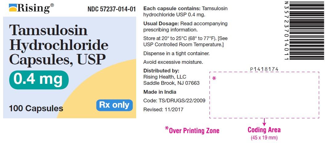 Tamsulosin Hydrochloride Capsule [Citron Pharma Llc]