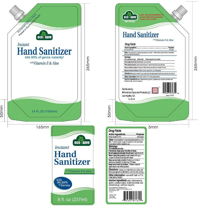Instant Hand Sanitizer (Hand Sanitizer) Kit [Ningbo Cleaner Daily Used Products Co. Ltd.]