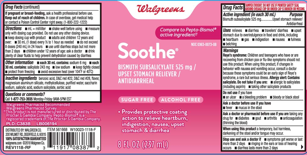 Soothe (Bismuth Subsalicylate) Liquid [Walgreens]