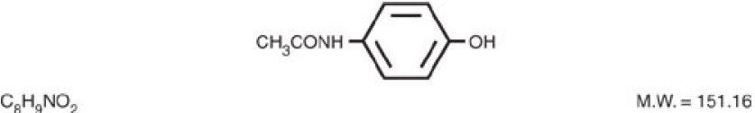 Theracodeine-300 Structural Formula
