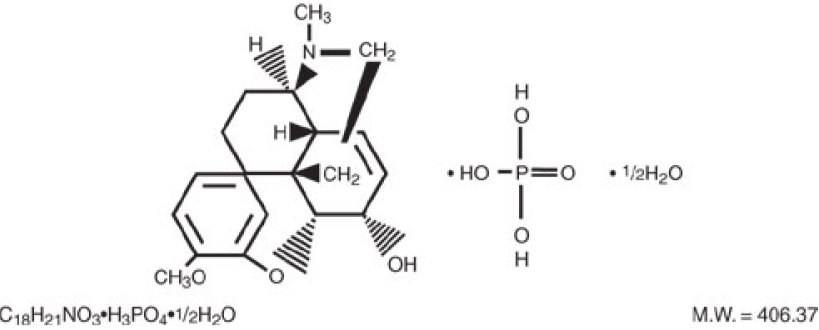 Theracodeine-300 Structural Formula 2