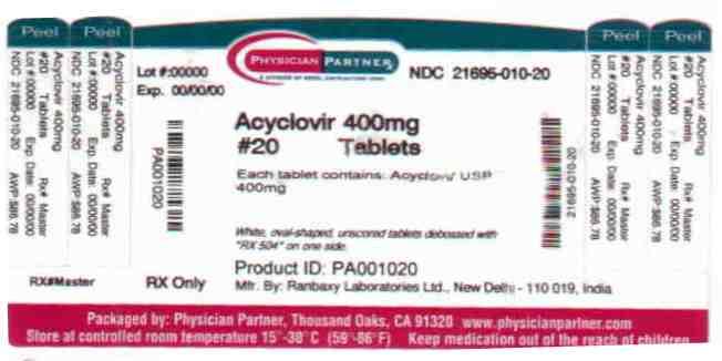 Acyclovir 400mg