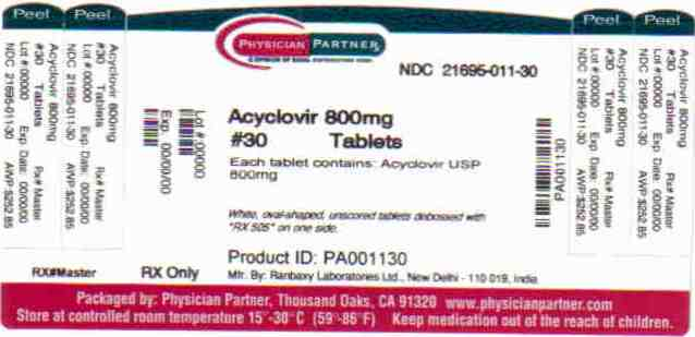 Acyclovir 800mg