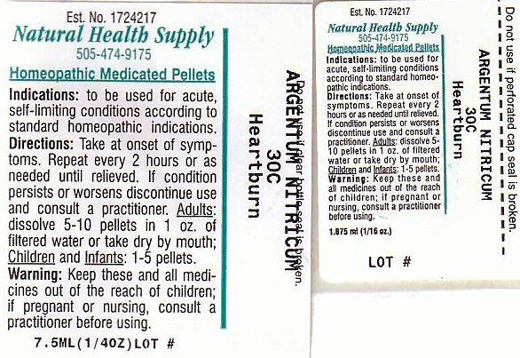 Heartburn (Silver Cation) Pellet [Natural Health Supply]