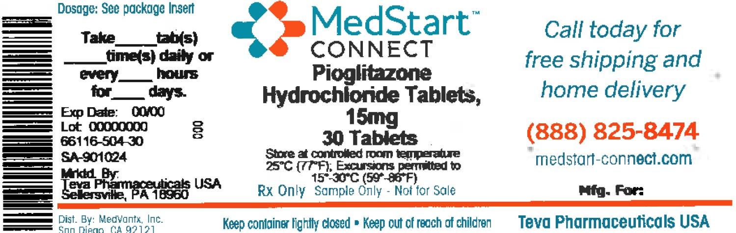 Pioglitazone Tablet [Medvantx, Inc.]