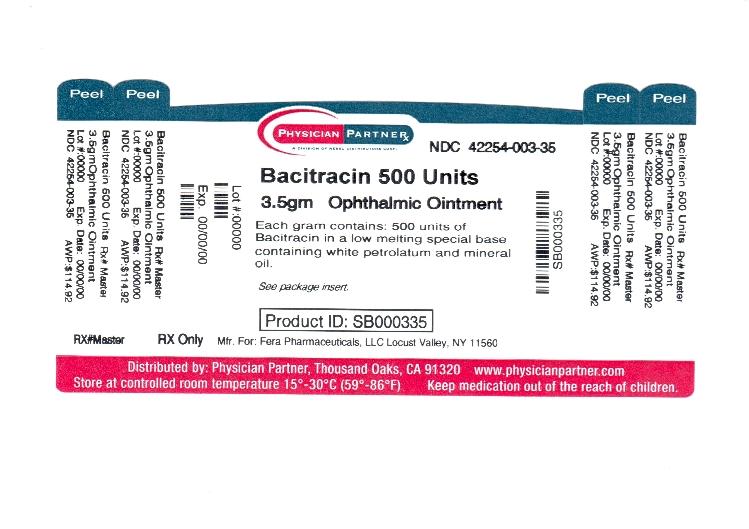 Bacitracin 500 Units