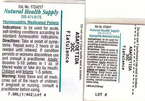 Flatulence (Asafetida) Pellet [Natural Health Supply]