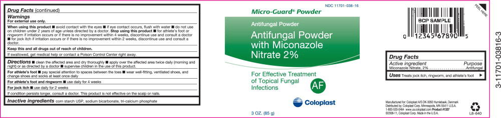 Micro-guard (Af) (Miconazole Nitrate) Powder [Coloplast Manufacturing Us, Llc]