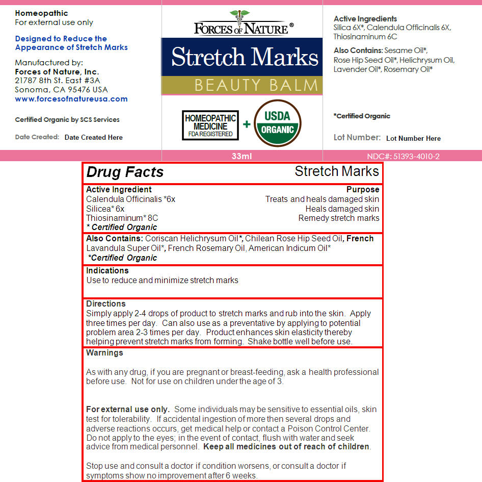 Stretch Mark Control (Calendula Officinalis Flower, Hydrated Silica, And Allylthiourea) Solution/ Drops [Forces Of Nature]