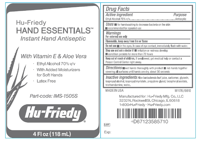 Hu-Friedy Hand Essentials Instant Hand Antiseptic
