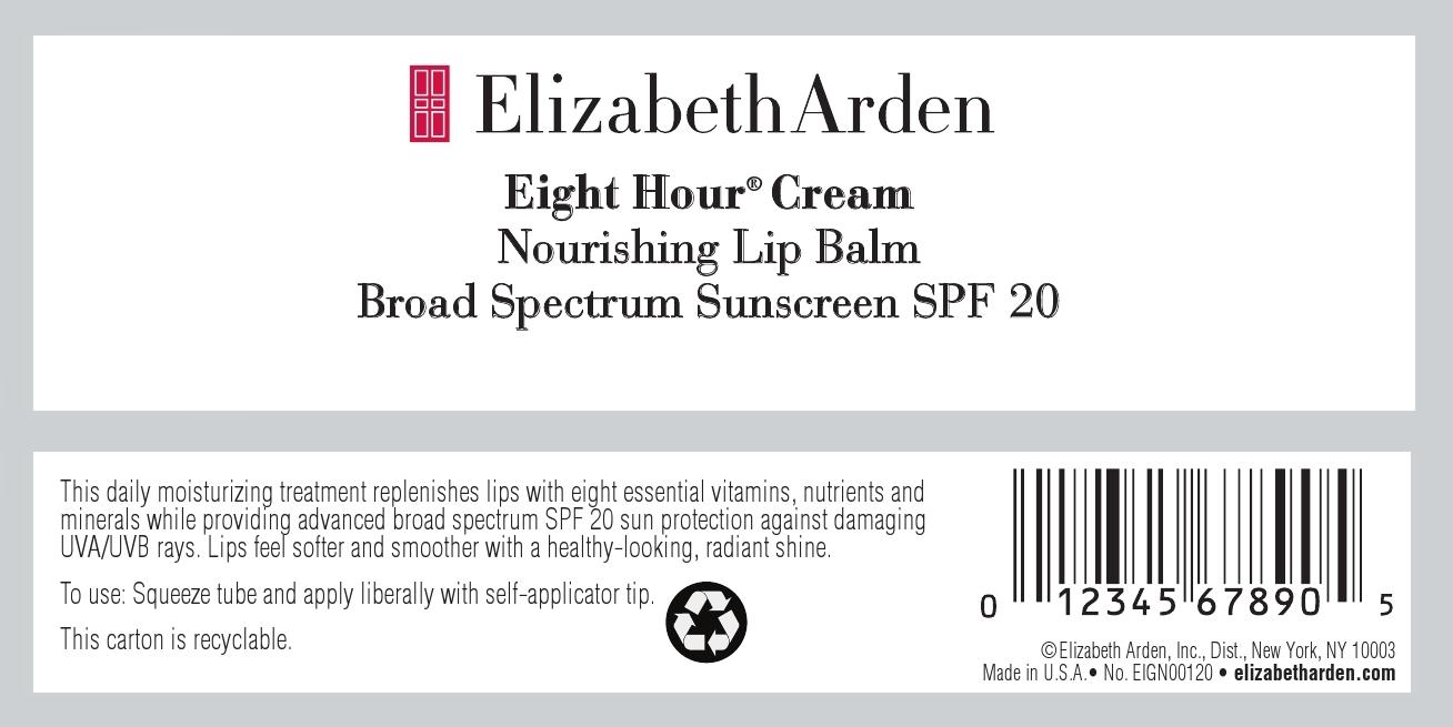 Eight Hour Cream Nourishing Lip Balm Spf 20 (Octinoxate And Avobenzone) Salve [Elizabeth Arden, Inc]