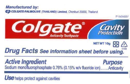 Colgate Anticavity (Sodium Monofluorophosphate) Paste, Dentifrice [Zhuhai Jenny's Choice Manufacturing Limited]