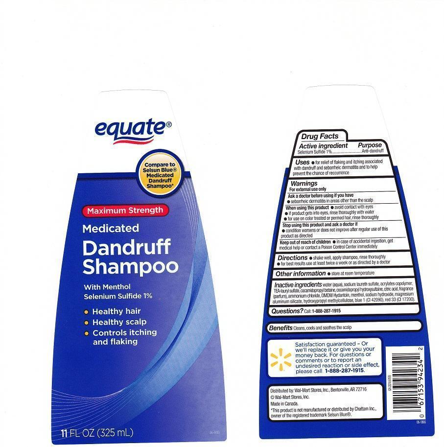 Equate (Selenium Sulfide) Liquid [Wal-mart Stores Inc.]