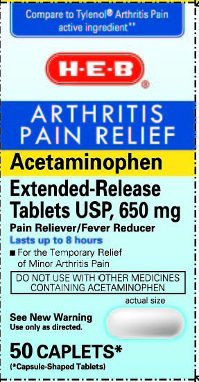 Acetaminophen Tablet, Extended Release [H-e-b]
