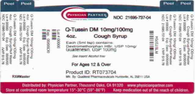 Q-Tussin DM 10mg/100mg