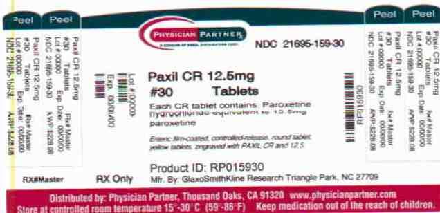 Paxil CR 12.5mg