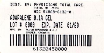 Adapalene Gel  0.1%  45 gram Carton