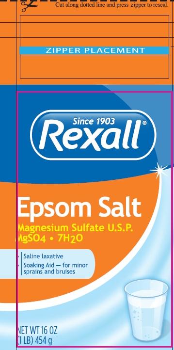 Epsom Salt (Magnesium Sulfate) Granule, For Solution [Dolgencorp, Llc]