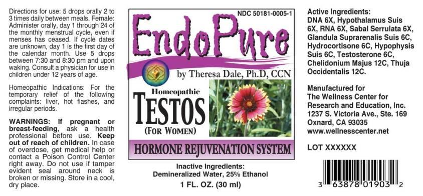 EndoPure Testos For Women
