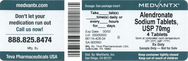 Alendronate Sodium Tablet [Medvantx, Inc.]