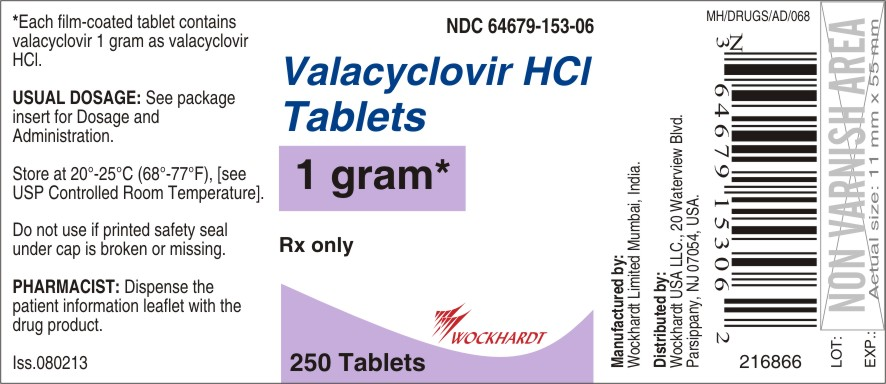 Valacyclovir Hydrochloride Tablet, Film Coated [Wockhardt Limited]