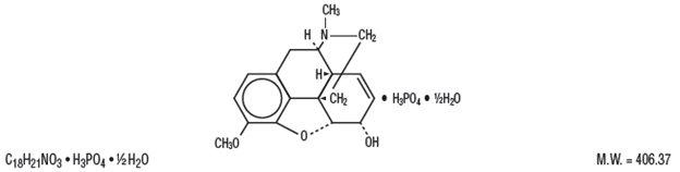 Codeine structure