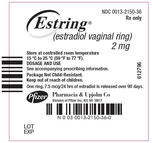 Estring (Estradiol) Ring [Pharmacia And Upjohn Company]
