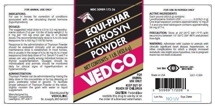 Thyrosyn (Levothyroxine Sodium) Powder [Vedco, Inc]