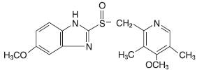 Omeprazole Structural Formula