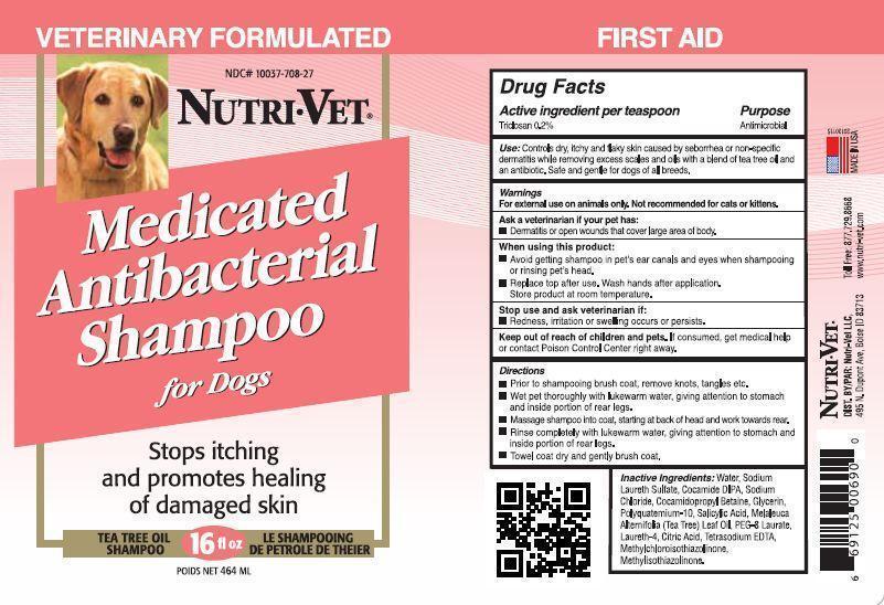 Nutri Vet Medicated Dog (Triclosan) Shampoo [Nutri-vet Llc]