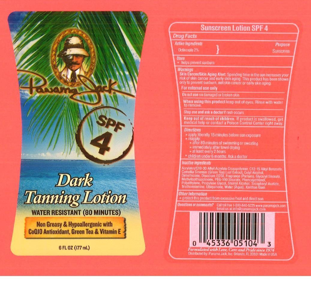 Panama Jack Spf 4 (Octinoxate) Oil [Prime Enterprises, Inc.]