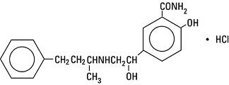 structural formula labetalol hcl