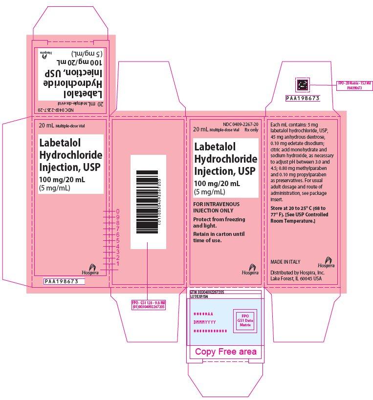 PRINCIPAL DISPLAY PANEL - 100 mg/20 mL Vial Carton