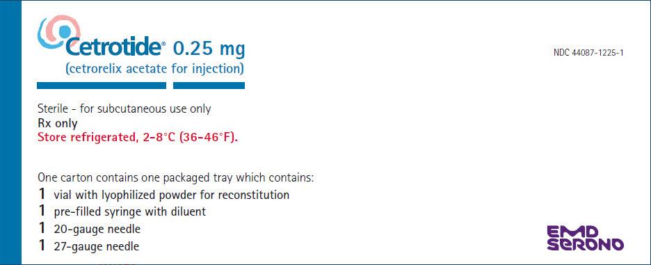 Cetrotide (Cetrorelix Acetate) Kit [Emd Serono, Inc.]