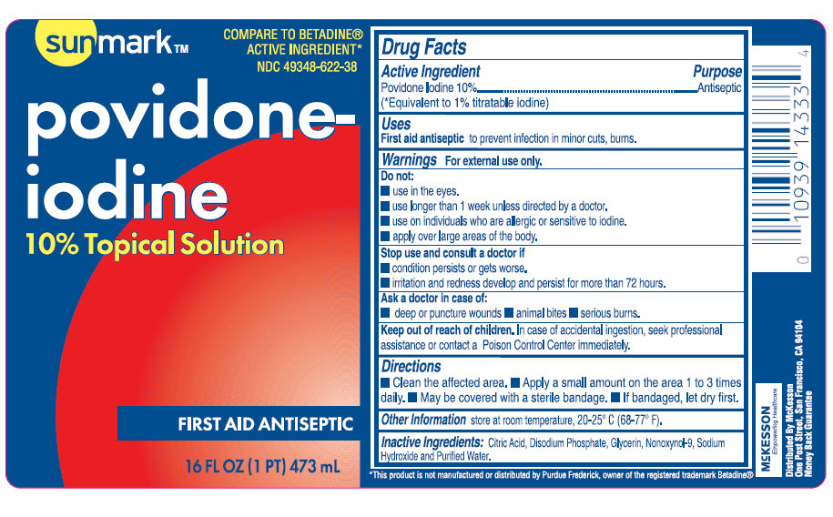 Sunmark Povidone-iodine Topical (Povidone-iodine) Solution [Mckesson]