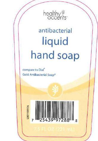 Antibacterial Hand (Triclosan) Liquid [Dza Brands Llc]