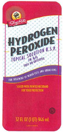 Hydrogen Peroxide Liquid [Wakefern Food Corporation]