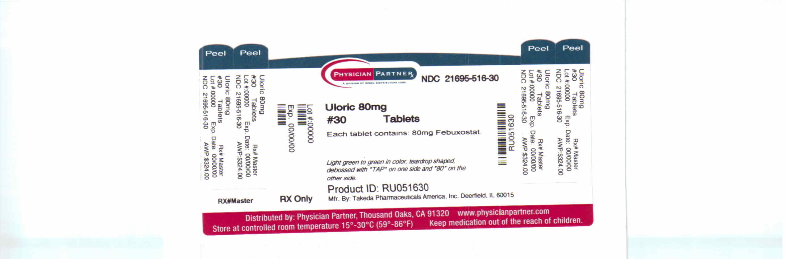 Uloric 80 mg
