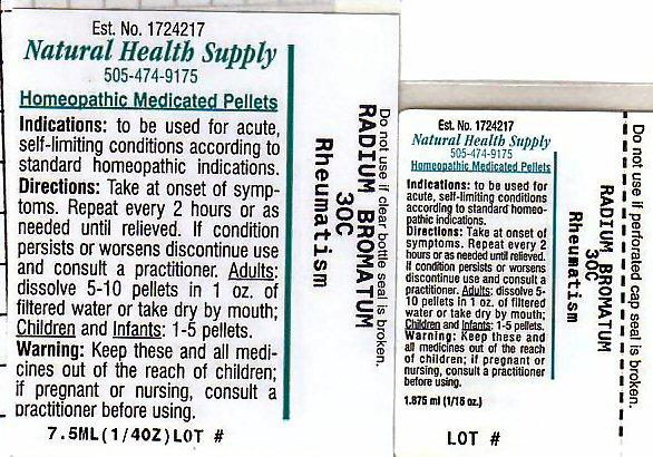 Rheumatism (Radium Bromide) Pellet [Natural Health Supply]