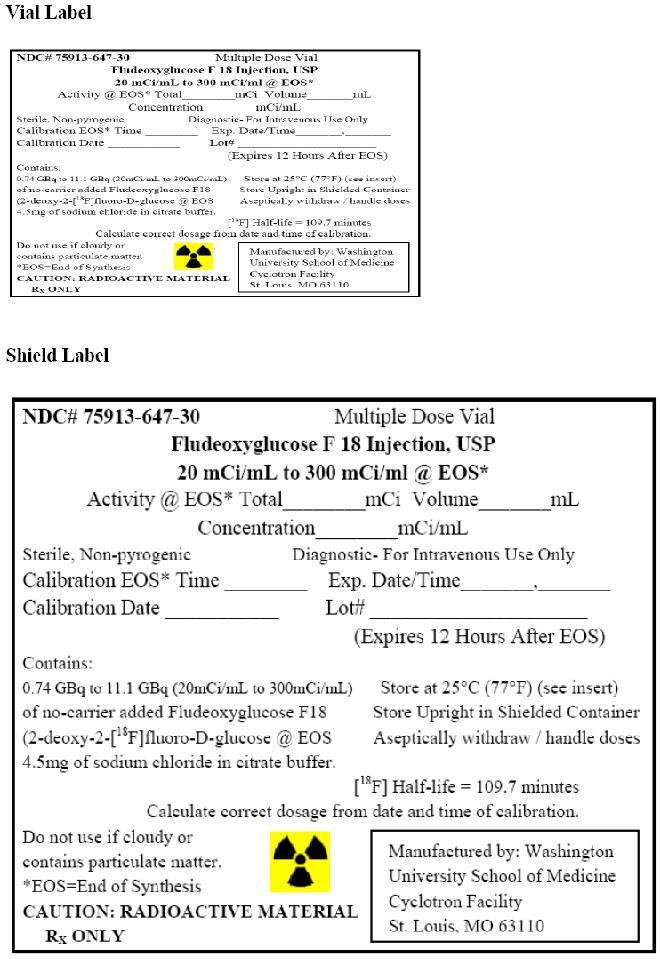 Fludeoxyglucose F 18 Injection [Washington University School Of Medicine]
