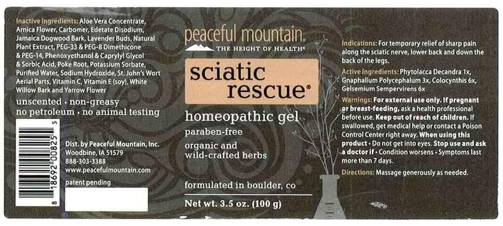 Sciatic rescue