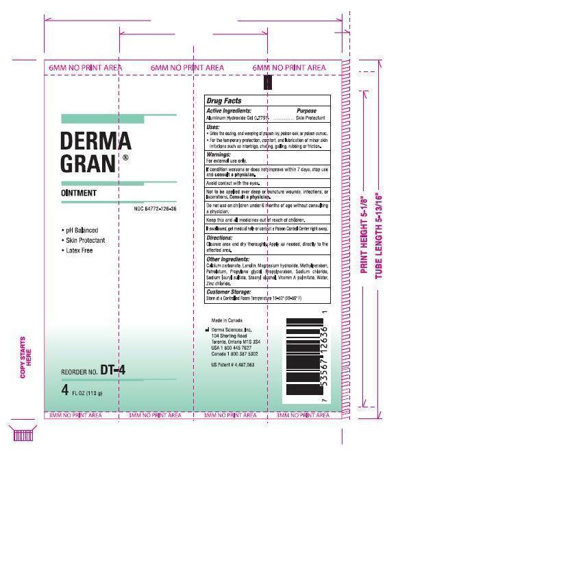 Derma Gran (Aluminium Hydroxide) Ointment [Derma Sciences Canada, Inc.]