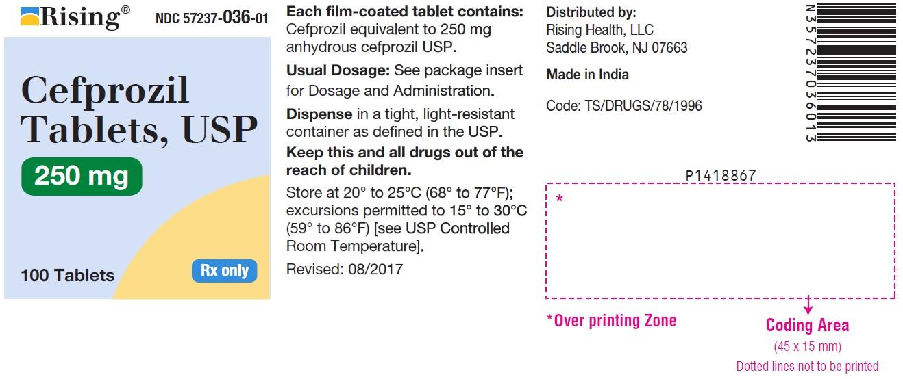 Cefprozil Tablet, Film Coated [Citron Pharma Llc]