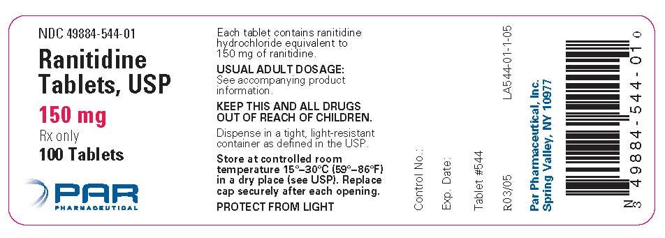 Ranitidine Tablet [Par Pharmaceutical Inc]