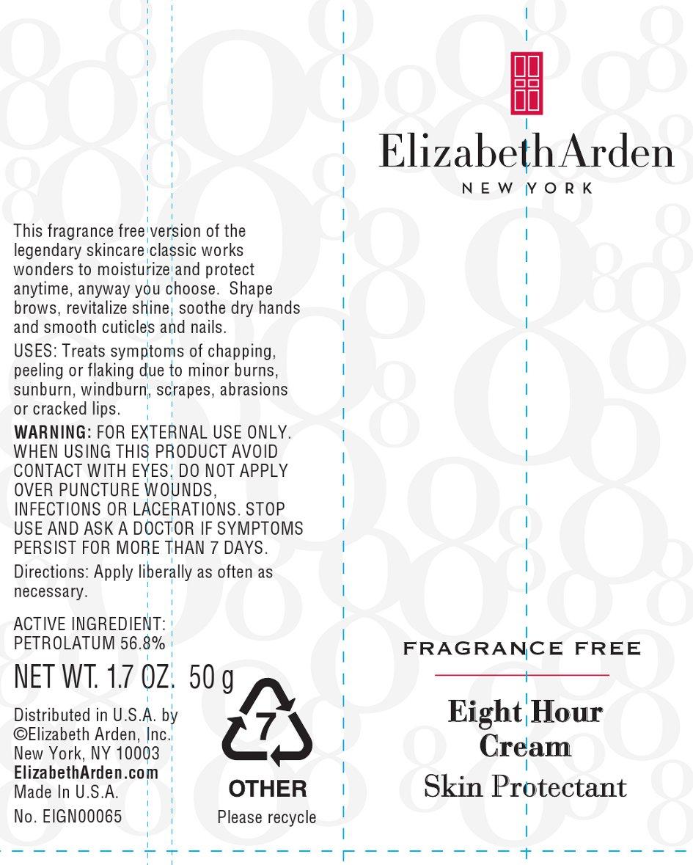 Eight Hour Cream Skin Protectant Fragrance Free (Petrolatum) Cream [Elizabeth Arden, Inc]