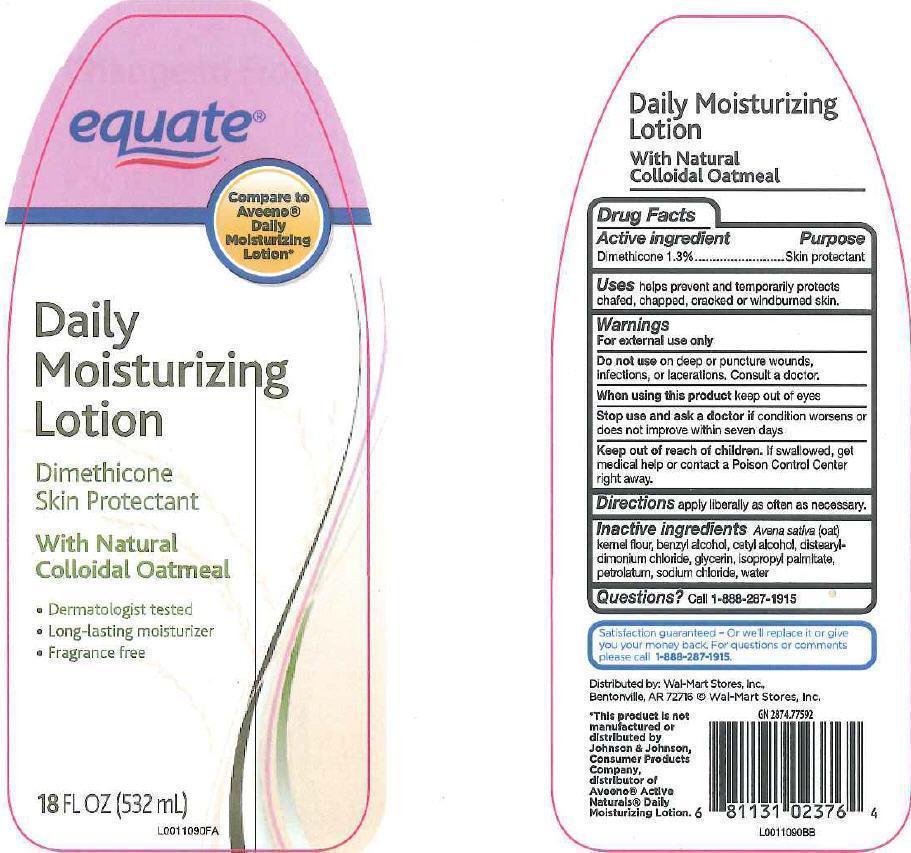 Daily Moisturizing (Dimethicone) Lotion [Wal-mart Stores, Inc]