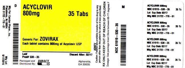 Acyclovir Tablet [Direct Rx]