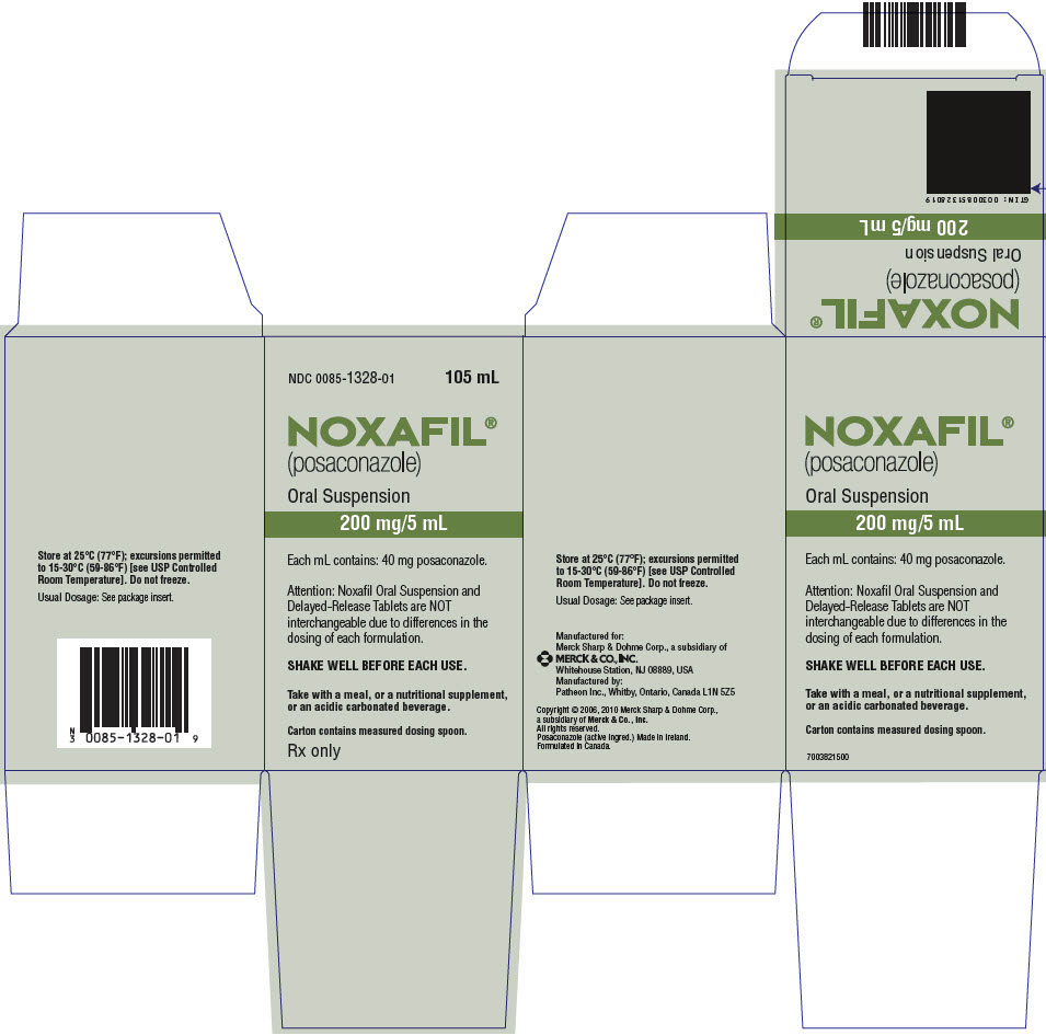 Noxafil (Posaconazole) Suspension Noxafil (Posaconazole) Tablet, Coated Noxafil (Posaconazole) Solution [Merck Sharp & Dohme Corp.]