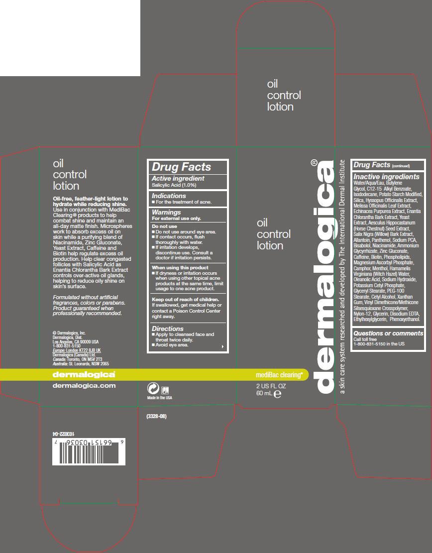 Oil Control (Salicylic Acid) Lotion [Dermalogica, Inc.]